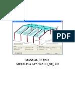 Manual de Uso Metalpla_xe_2d-2012