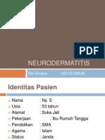 BST Neuro Dermatitis