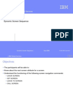 SAP Dynamic Screen Sequence