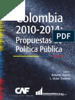 Fedesarrollo Colombia 2010-2014