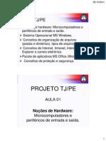 Aula 1 2011-10-26 Revisao Atraves de Questoes Analista Judicia Informatica Esp Em Oficial e Tec Introducao
