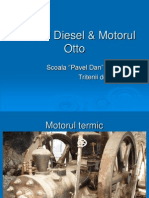 Motorul Diesel & Motorul Otto