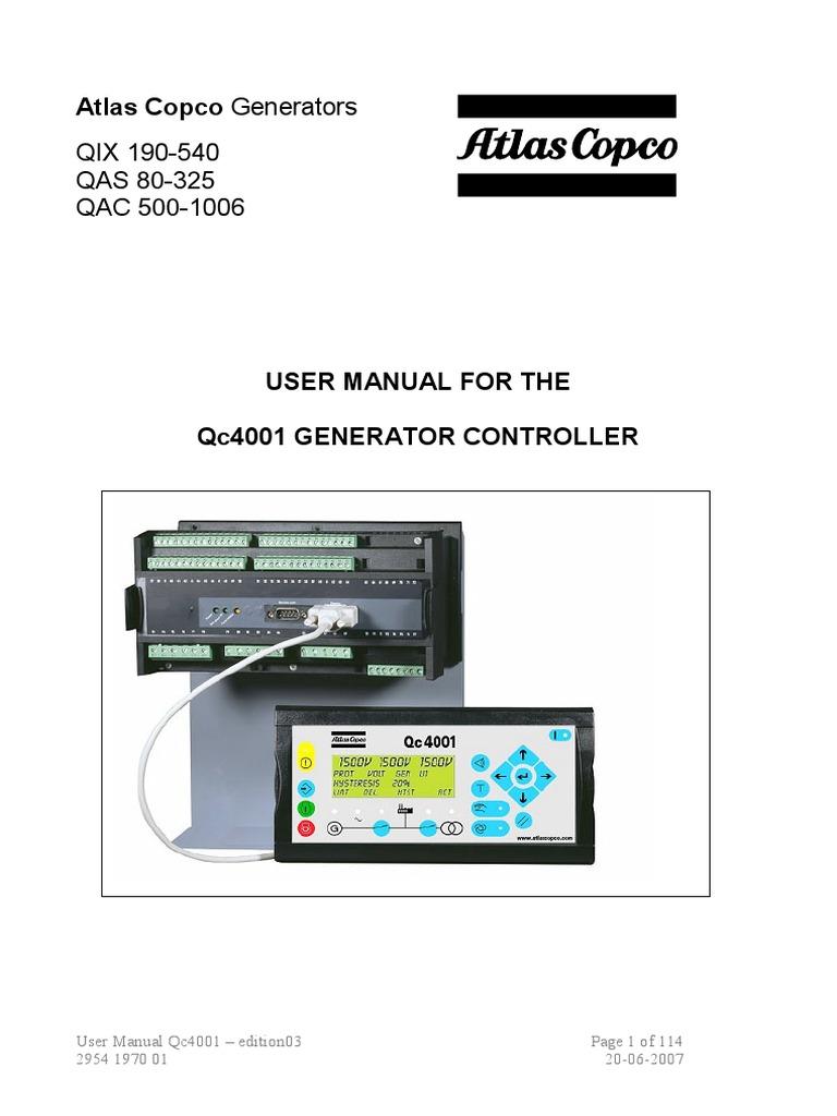 User Manual Qc4001 Manual | Relay | Power SupplyScribd