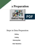 Data Prep and Descriptive Stats