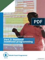 WFP_Seasonal Livelihood Programming