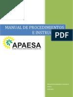 Manual de Procedimientos e Instructivos