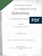 Neprajzi Ertesito - 1900