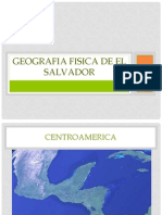 Geografia Fisica de El Salvador