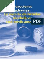 Mezcla de Alcohol Con Medicinas