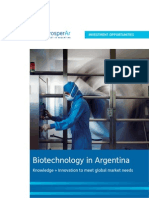 Biotechnology in Argentina