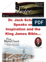 Dr. Jack Schaap Speaks on Inspiration and the King James Bible