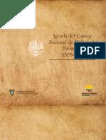 Agenda Sectorial Patrimonio 2009 2010