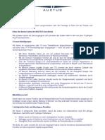 Auctus Neujahrsbrief 2014 Deutsch