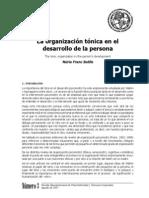 Organizacion Tonica de La Persona
