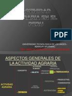 La Actividad Agraria en El Peru