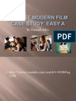 My Post Modern Film Case Study Easy A