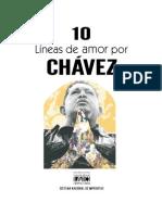 Diez líneas de amor por Chávez
