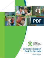 Education Support Pack Special Schools