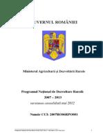 Programul Naţional de Dezvoltare Rurală 2007-2013