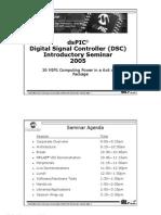 DsPIC Seminar Q205