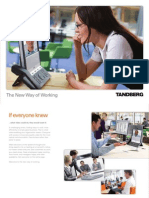 Tandberg Corporate Brochure