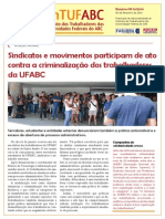 Boletim SinTUFABC 01/2014 (05 de fevereiro de 2014)