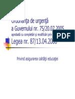 5 Legea 87 2006
