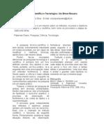 Pesquisas Científica e Tecnológica