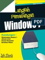 Langkah-Langkah Memasang/Format/Install Windows 7