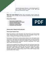 5 Prinsip Rukun Negara Malaysia