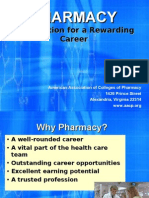 Presentation on Pharmacy Careers