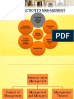 1. Introduction to Management Context of Management and Management and Managers