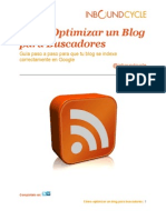 Como Optimizar Un Blog Para Buscadores