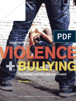2011 Peer-To-Peer Violence and Bullying