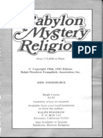 Ralph Woodrow Babylon, Mystery Religion_ Ancient and Modern 1981