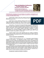 Carta Aberta a Conciliares Do 19o CG EDIT
