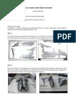 Tutorial - How to Build a Dark Eldar Harvester Part 1