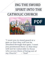 Sneaking the Sword of the Spirit Into the Catholic Church
