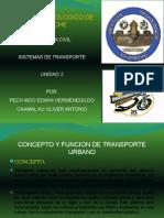 Datos de Transporte Urbano de Chihuahua