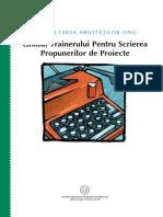 Proposal Writing Romanian