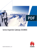 Service Inspection Gateway (SIG9800)