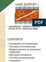 Language Support  - Homo
