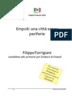 Programma Filippo Torrigiani Completo