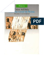 ALFOLDY- Historia social de Roma - 3ª ed - 1984
