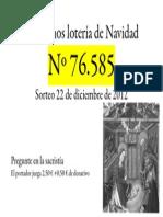 Lotería 2012