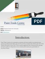 Profil de la société Paint Trade Centre