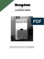 Libro de Instrucciones Caldera PDF