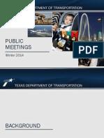 TxDOT's OK to Texas Rail Study
