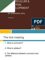 Curriculum Material Development