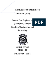 SE(E&TC E&C Elex IE) Syllabus Wef 2013 2014